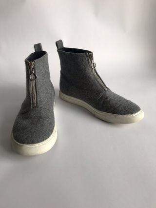 Zip Wool Space Boots