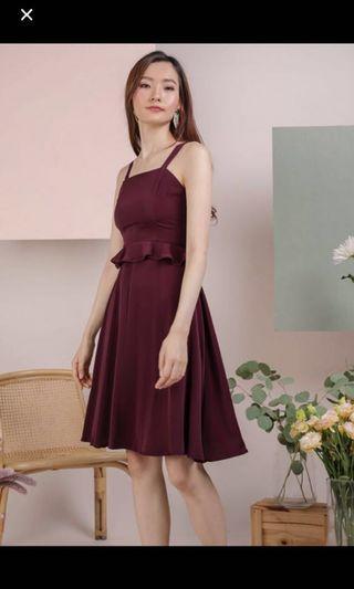 TTR Deana Wine Dress
