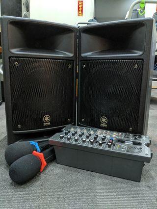 Equipment Rental for Small-Medium Events