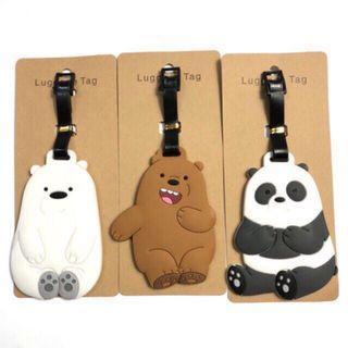 We Bare Bears Luggage Tag