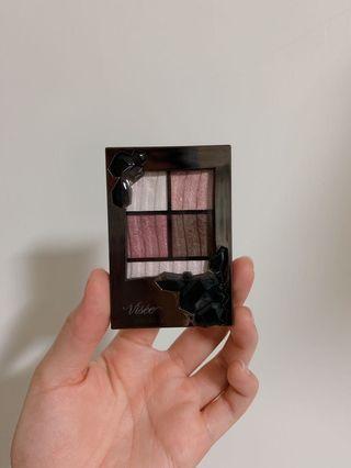 VISEE 絕美紫色系四色眼影盤