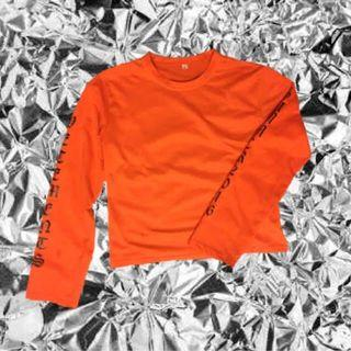 Vetements long orange