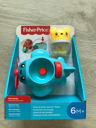 🚚 Fisher Price Press & Rattle Racers Plane