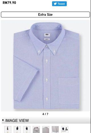 New UNIQLO short sleeves shirt