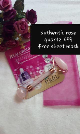 ROSE Quartz authentic