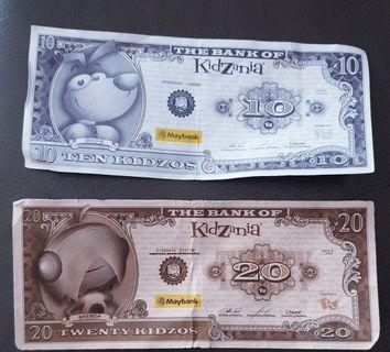 Kidzania Money