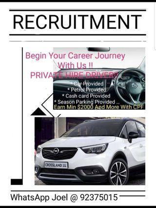 Recruiting PHV Driver