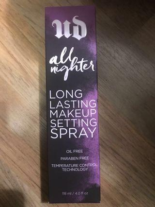 [全新]Urban Decay long lasting makeup setting spray 持久定妝噴霧118ml