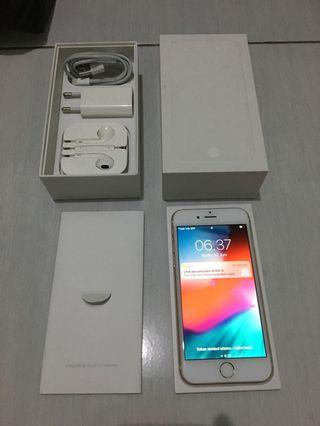 iPhone 6 gold 128gb eks garansi ibox