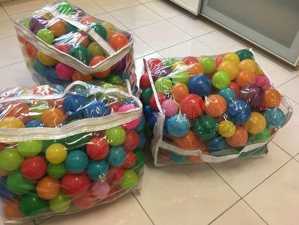 Balls for play