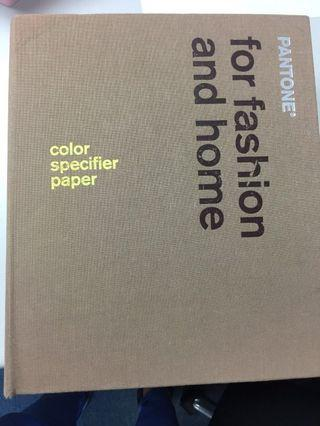 Pantone for fashion and home 2003
