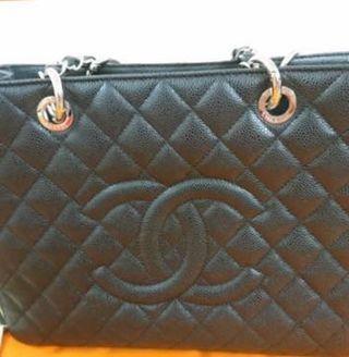 Chanel GST grand tote,  black color
