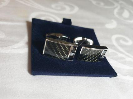 🚚 Swarovski Crystal Cuff Links