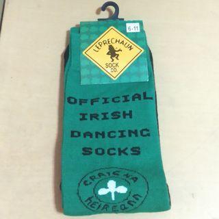 Official Irish Dancing Crew Socks from Ireland