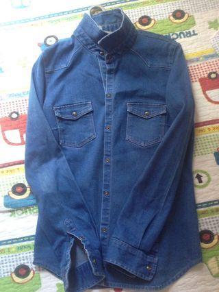 Zara Jeans top
