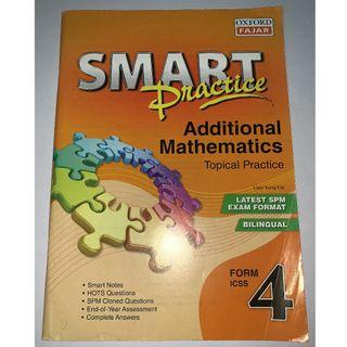 SMART Practice Additional Mathematics Topical Practice Form 4 SPM