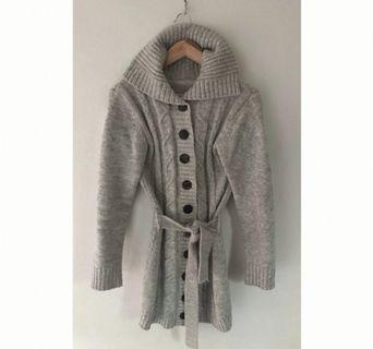 Size M: Light grey cardigan 20% mohair MASSIVE WARDROBE CLEAN OUT