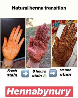 Natural Henna Cone