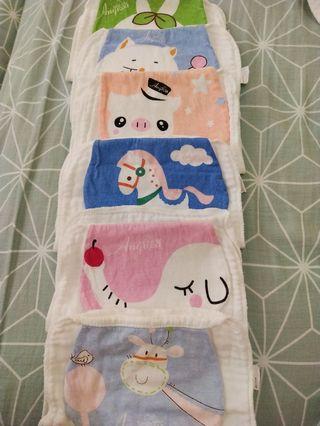 20pcs Cotton Towels and Napkins Bundle