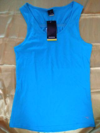 Ori DIADORA  fitness women's tank top uk L