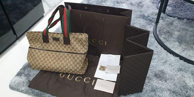 Selling Authentic Gucci Diaper Bag(Mint Condition)