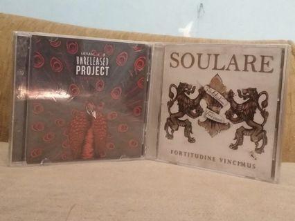 2 CD Music (Unreleased Project Vol.1 & SOULARE - Fortitudine Vincimus)