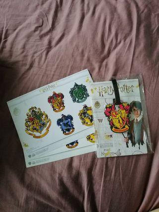 # blessing / foc: BN Harry Potter Luggage tag + stickers