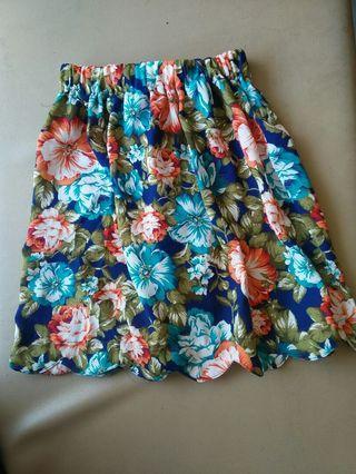 Floral Skirt - Rok bunga-bunga