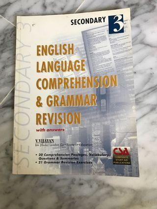English Language Comprehension & Grammer Revision