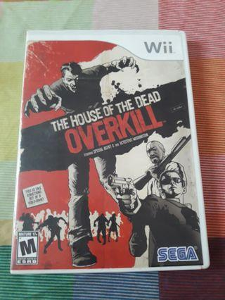 House of the Dead Overkill Wii US