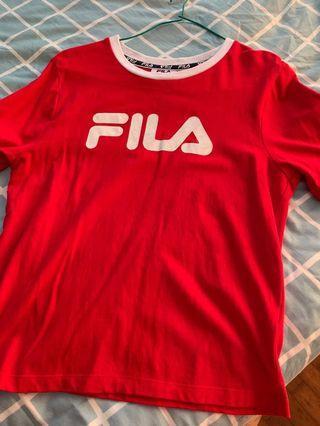 Authentic Fila shirt