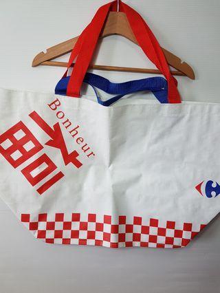 🚚 福氣 環保袋 購物袋 家樂福 正品 全新 大容量