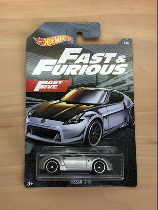 Hot Wheels Fast and Furious Nissan 370Z
