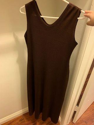 🚚 長裙 可當孕婦裝 洋裝