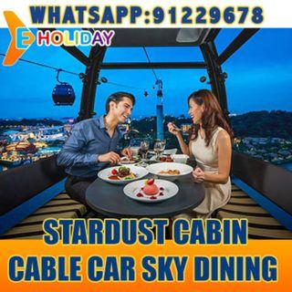Cable car dining / Singapore flyer dining