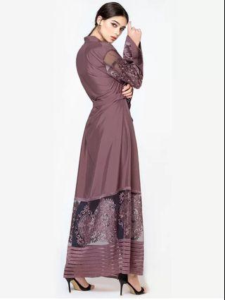 PREORDER Muslim Islam Arab Indonesia Malaysia Pakistani Indian Clothes colorful pattern high end costume queen lace