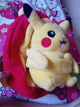Tas ransel pokemon Pikachu