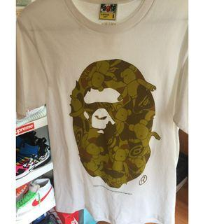 Bape x bearbrick tee (not off white, not supreme, not yeezy)