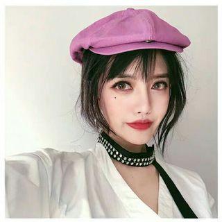 (PO) 5 Colours - Soft Coloured Hat Beret