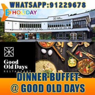 Dinner buffet @ good old days