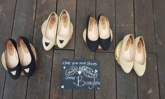 Flatshoes by Bunglon (ready all size!)