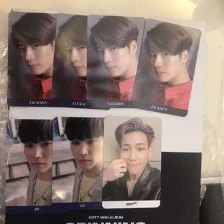 Got7 Spinning Top Photocard WTT