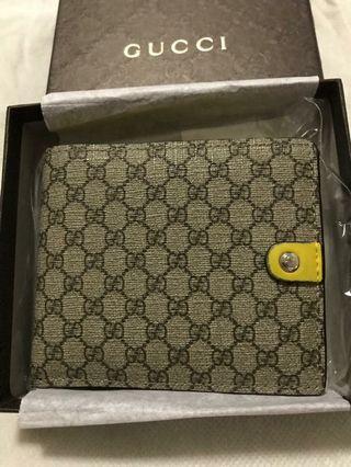 Gucci Men Wallet #microvgg supreme canvas bi fold