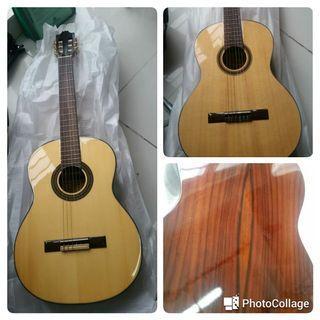 台湾品牌 Vanlenic 合桃木吉他 連袋