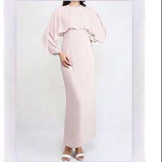 Poplook Dress (Beige) FREE POSTAGE