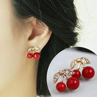 Anting Cherry Lucu New Tumblr Tumbler Earrings