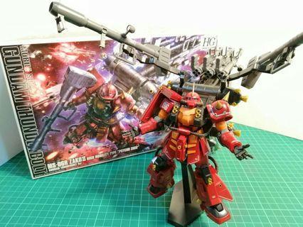 HG MS-06R High Mobility Type Zaku II `Psycho Zaku` (Gundam Thunderbolt Ver.)