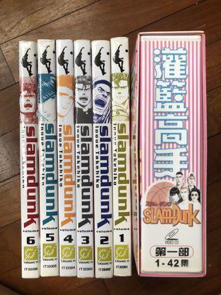 🚚 Slamdunk Manga & Anime