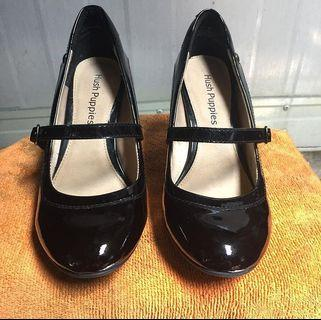 Hush puppies Sisany mary jane Black patent leather