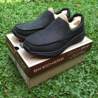 SKECHERS HARSEN ORTEGO LOAFER SLIP ON MEMORY FOAM 65620/BLK ORIGINAL